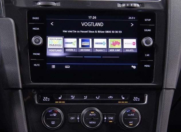 vw composition media 2018 - radio | navi | bluetooth | update
