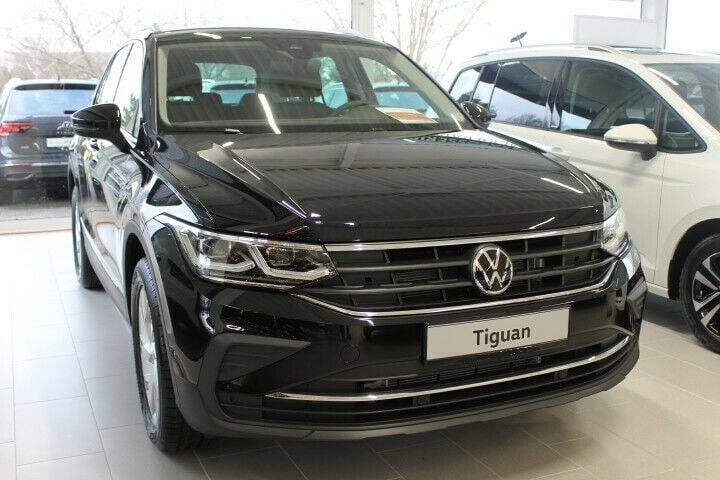 VW Tiguan Abmessungen