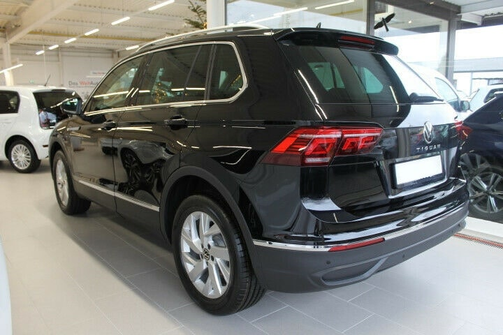VW Tiguan Maße