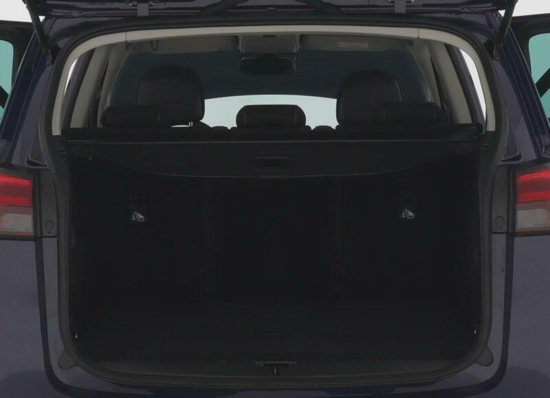 Opel Zafira Kofferraumvolumen
