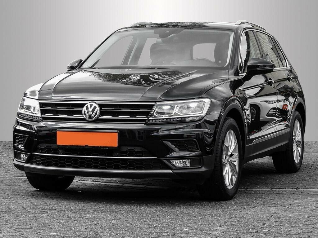 VW Tiguan Maße Vorgänger