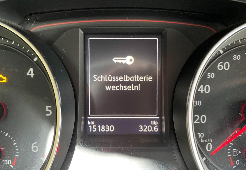 VW Schlüssel Batterie wechseln